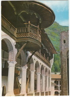 Rila-Kloster, Der Nordwestflügel - Holzbalkone / Le Monastère De Rila, L'aile Nord-est - Balcons En Bois - (Bulgaria) - Bulgarije