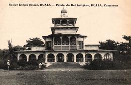 CAMEROUN - DUALA - PALAIS DU ROI INDIGENE - Cameroun