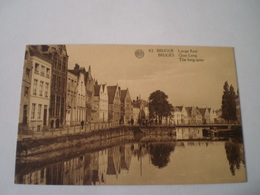 Brugge - Bruges // Lange Kaai - Quai Long // 19?? Zeldzaam Zicht - Brugge