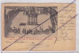 Metz Ancien (57)Entrée De Madame De La Valette à Metz En L'an 1624 Dans La Cour De L'Hôtel Du Suffolk (Palais De Justice - Metz