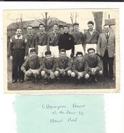 HAND BALL  Paris 1954 - 1955  Championnat De France Et De Paris ( Au Dos , Noms Et Signatures ) - Sport