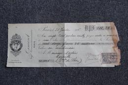 Lettre De Change - PARIS - OSMONT, Ecole Pratique De Commerce. - Bills Of Exchange