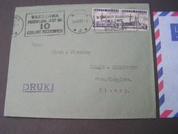 Polen Cv, 1937 Druki - Briefe U. Dokumente