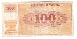 Slovenia 100 Tolarjev 1990 - Slovenia