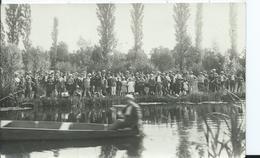 LANGEAIS - CARTE PHOTO - Concours De Pêche à La Ligne 02 Aout 1909 - - Langeais