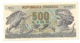 Italy 500 Lire 23/02/1970 SUP / AUNC - 500 Lire