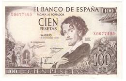Spain 100 Pesetas 19/11/1965 AUNC - [ 3] 1936-1975 : Régence De Franco