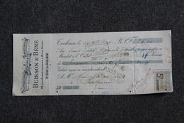 Lettre De Change - TOULOUSE, BUISSON Et BENE - Quincaillerie, Métaux, Ferronnerie. - Bills Of Exchange