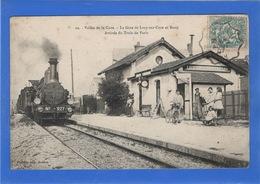 89 YONNE - LUCY SUR CURE Et BESSY Arrivée Du Train De Paris - France