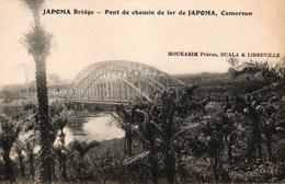 CAMEROUN - DUALA - PONT DE CHEMIN DE FER DE JAPOMA - Cameroun