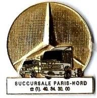 M10 - MERCEDES - SUCCURSALE PARIS-NORD - Verso : MTI - Mercedes