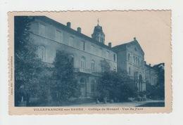 69 - VILLEFRANCHE SUR SAONE / COLLEGE DE MONGRE - VUE DU PARC - Villefranche-sur-Saone