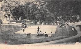 Bourbon Lancy (71) - Parc De L'Etablissement Thermal - Jeu De Lawn Tennis - France