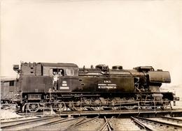 Foto  Photo - Trein Train Locomotief - Samper De Calanda 2-4-2-T  De 1958 MTM - Trenes
