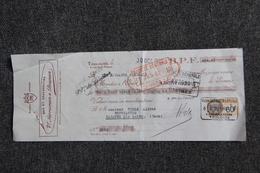 Lettre De Change - TOULOUSE, Bas Et Chaussettes SARRAMON Et BRUNON - Bills Of Exchange