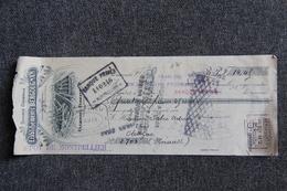 Lettre De Change - CLERMONT FERRAND, Etablissements BERGOUGNAN - Bills Of Exchange