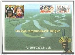 Herdenkingskaart - Carte-souvenir Bresil  4190 HK (cob ) Cote  : 10.00 Euro - Erinnerungskarten