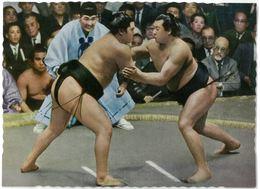 CPSM JAPON - JAPAN - SUMO - Sumoh : N°113 - Ed. Ohtsuji Shoten - Martiaux