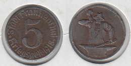 Allemagne FRANKENTHAL  5  Kriegsgeld 1918  Forgeron - Monétaires/De Nécessité