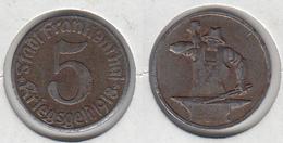 Allemagne FRANKENTHAL  5  Kriegsgeld 1918  Forgeron - Monetary/Of Necessity