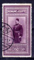 2.4.1926; 58. Geburtstag Des Königs,  Mi-Nr. 104 , Gest. Los 49841 - Egypt
