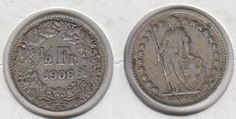 Suisse ½ Fr 1906 Demi Franc - Schweiz