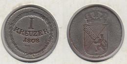 Allemagne BADEN 1 Kreuzer 1808  Karl Friedrich - [ 1] …-1871 : German States