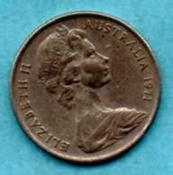 (r65)  AUSTRALIE / AUSTRALIA  5 CENTS 1971  KM#64 - Monnaie Décimale (1966-...)