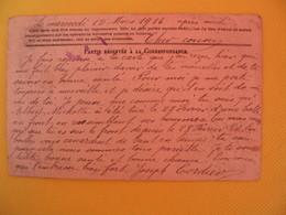 France Carte En Franchise Militaire 1916 J. Cordier  Pour Seine Inférieure  Secteur Postal 10 - Cartes De Franchise Militaire