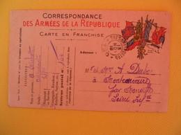 France Carte En Franchise Militaire 1916 A. Michotte   Pour Seine Inférieure  Secteur Postal 150 - Cartes De Franchise Militaire