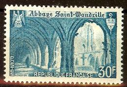 SUPERBE St WANDRILLE YT N°888 NEUF AVEC GOMME* Cote 3,85 Euro - France