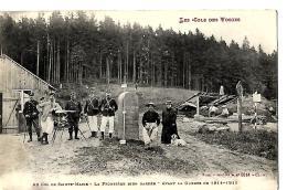 88 AU COL DE SAINTE MARIE LA FRONTIERE BIEN GARDEE AVANT LA GUERRE DE 1914-1915 SERIE LES COLS DES VOSGES - Dogana