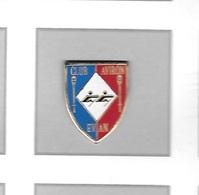 Pin's  Ville, Sport  CLUB  AVIRON  De  EVIAN  ( 74 ) - Aviron