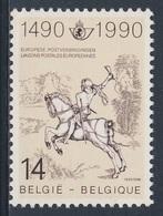 """Belgie Belgique Belgium 1990 Mi 2402 YT 2351 ** """"Courier"""" Albrecht Dürer / Postreiter / Petite Cavalier De La Poste - Post"""
