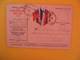 France Carte Correspondance Militaire Michotte à L'hopital St Louis Pour Seine Inférieure 1915 - Cartes De Franchise Militaire