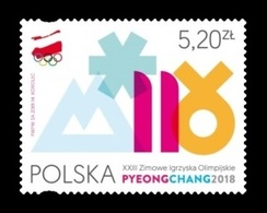 Poland 2018 Mih. 4973 Olympic Winter Games In PyeongChang MNH ** - 1944-.... Republik