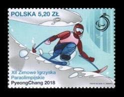 Poland 2018 Mih. 4975 Paralympic Winter Games In PyeongChang MNH ** - 1944-.... Republik