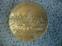 MEDAILLE De MARINE Bronze De 1962 VILLE DE DUNKERQUE (59) - Profesionales / De Sociedad
