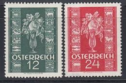 ÖSTERREICH 1937 - MiNr:658-659 Komplett -  Feinst **  / MNH - Ungebraucht