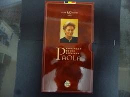 BELGIE 250 FRANK PROOF SET 1996 PAOLA - 07. 250 Francs
