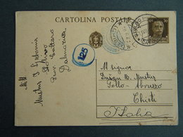 WW2 - ITALY OCCUPATION OF MONTENEGRO 1942- STOLIVO - CATTARO TO TOOL CHIETI-CENSURA - Occupation 2ème Guerre Mond. (Italie)