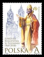 Poland 2018 Mih. 4997 Bishopric Of Poznan MNH ** - 1944-.... Republic