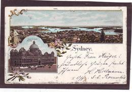 Old PC SYDNEY, N.S.W., Panorama, 1900 Litho Postcard - Sydney