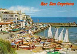 CPM Espagne, Costa Dorada, Roda De Bara, Roc San Cayetano - Tarragona