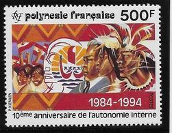 Polynésie N°458 - Neuf ** Sans Charnière - Superbe - Nuovi