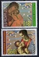PIA  -  BULGARIE  -  2000  : EUROPA    (Yv  3879-80 ) - Bulgarie