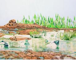 Alcantara #2, Oil On Canvas 56x71 Cm, Year 2007 - M. Pianese - Oils