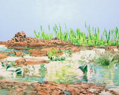 Alcantara #3, Oil On Canvas 56x71 Cm, Year 2007 - M. Pianese - Oils