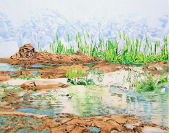 Alcantara #4, Oil On Canvas 56x71 Cm, Year 2007 - M. Pianese - Oils