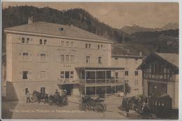 Hotel Löwe In Mühlen Im Oberhalbstein - Postkutsche - Photo: R. Zinggeler - GR Grisons